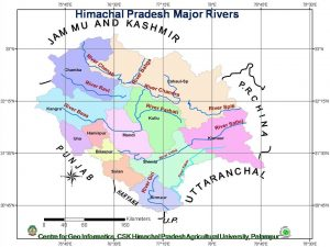 Himachal Pradesh Major Rivers