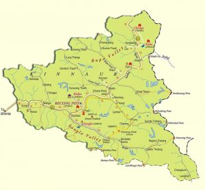 Kinnaur Map
