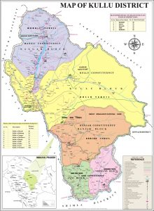 Kullu map