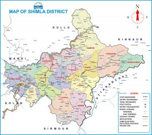 Shimla District Map