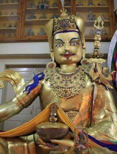 Inside Namgyal Monastery