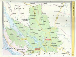 Tourist Map Bilaspur