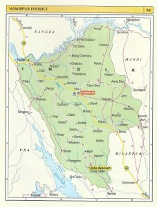 Tourist Map Hamirpur