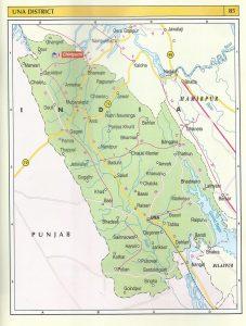 Tourist Map Una