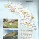 Tribal Lahaul Spiti Circuit Tourist Map