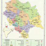 Himachal Pradesh Political Map