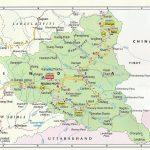 Tourist Map Kinnaur