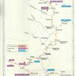 Tourist Map Manali Leh route